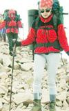 Everestte ilk Türk kadını Elif Maviş