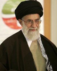 İran'ın dini lideri Ayetullah Ali Hamaney,