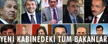 Kabinede revizyona gidildi.10 bakan yerini korudu, 7 bakanın görevi değişti, 8 bakan kabine dışı kaldı ve Bakanlar Kurulu'na biri Meclis dışından 9 yeni isim katıldı. tarihte bugün