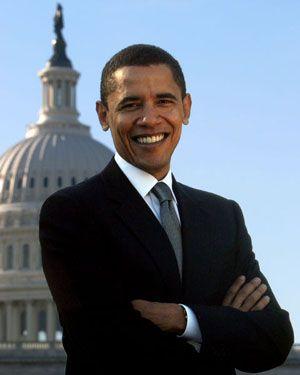 Amerikanın ilk siyah başkanı Barack Obama