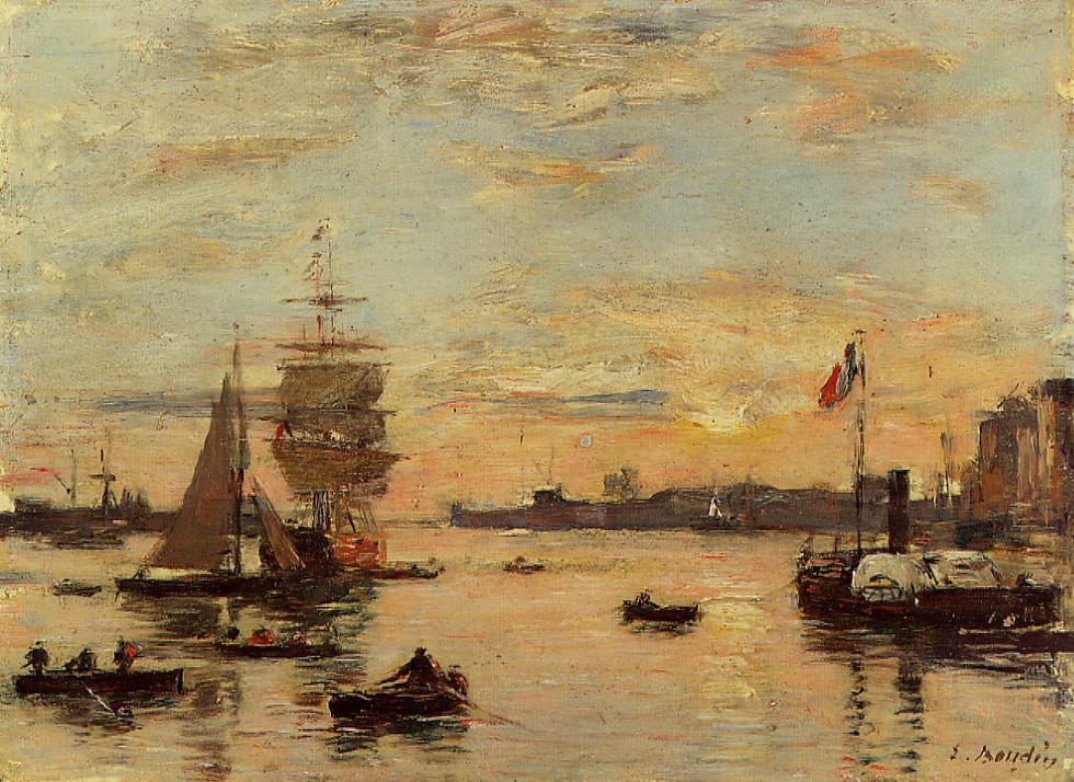 Eugene Boudin, Fransız ressam doğumu (ÖY-1898) tarihte bugün