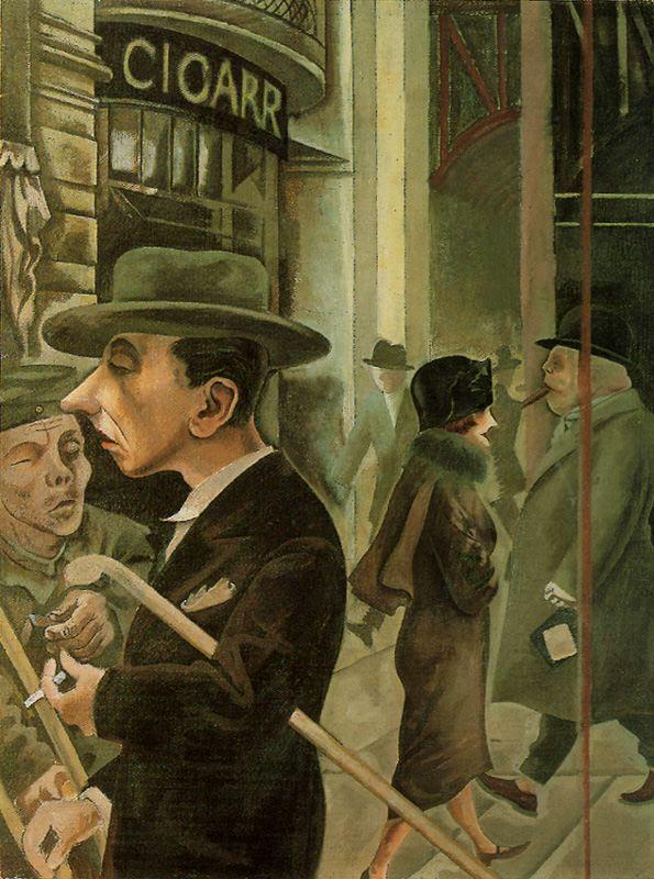 George Grosz, Alman ressam (DY-1893) tarihte bugün