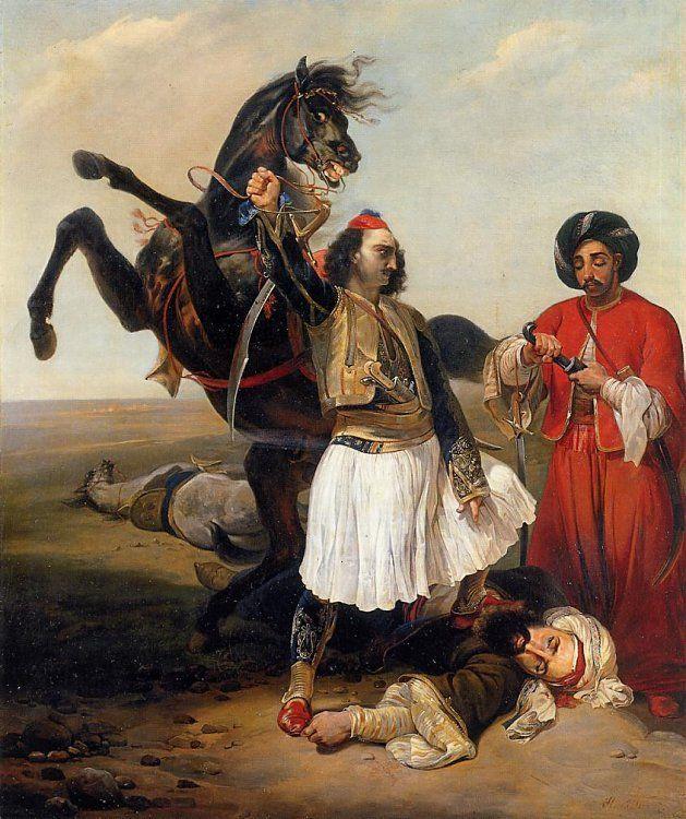 Horace Vernet, ressam  (ÖY-1863) tarihte bugün