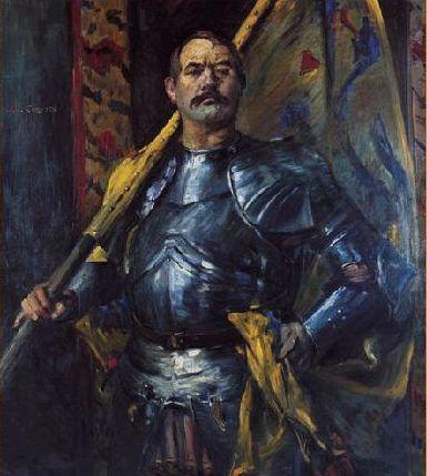 Lovis Corinth, Alman ressam. (ÖY-1925) tarihte bugün