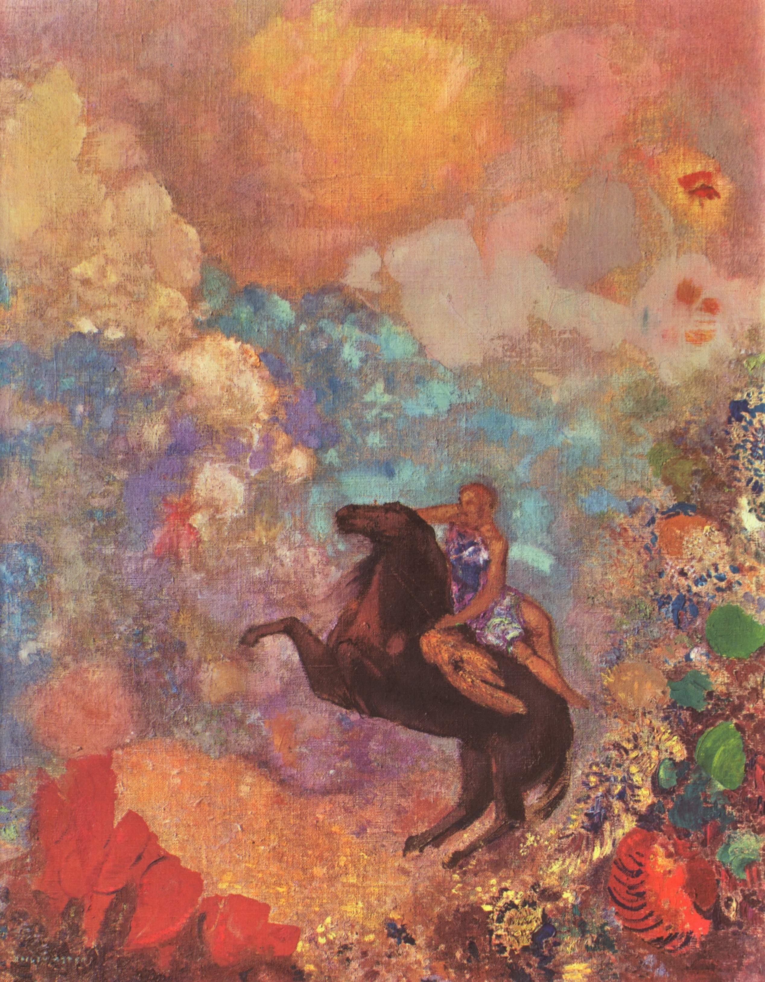 Odilon Redon, Fransız ressam (DY-1840) tarihte bugün