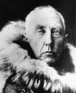 Güney Kutbu'nu keşfeden Norveçli kaşif Roald Amundsen. tarihte bugün