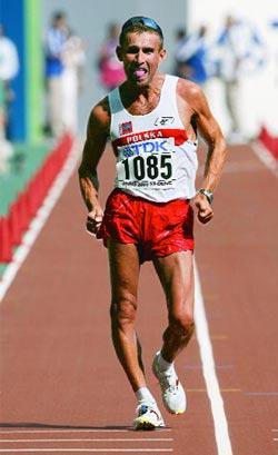 Robert Korzeniowski,sporcu, yürüyüşçü tarihte bugün