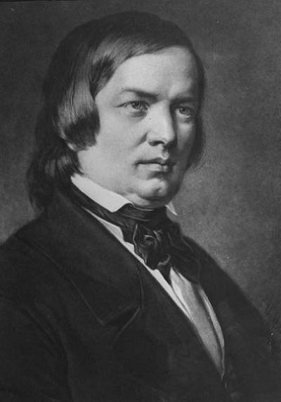 Robert Schumann, Alman besteci (DY-1810) tarihte bugün