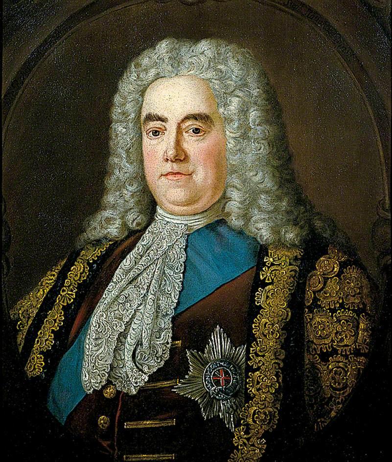 Robert Walpole, siyasetçi, ingiltere ilk başbakanı (ÖY-1745) tarihte bugün