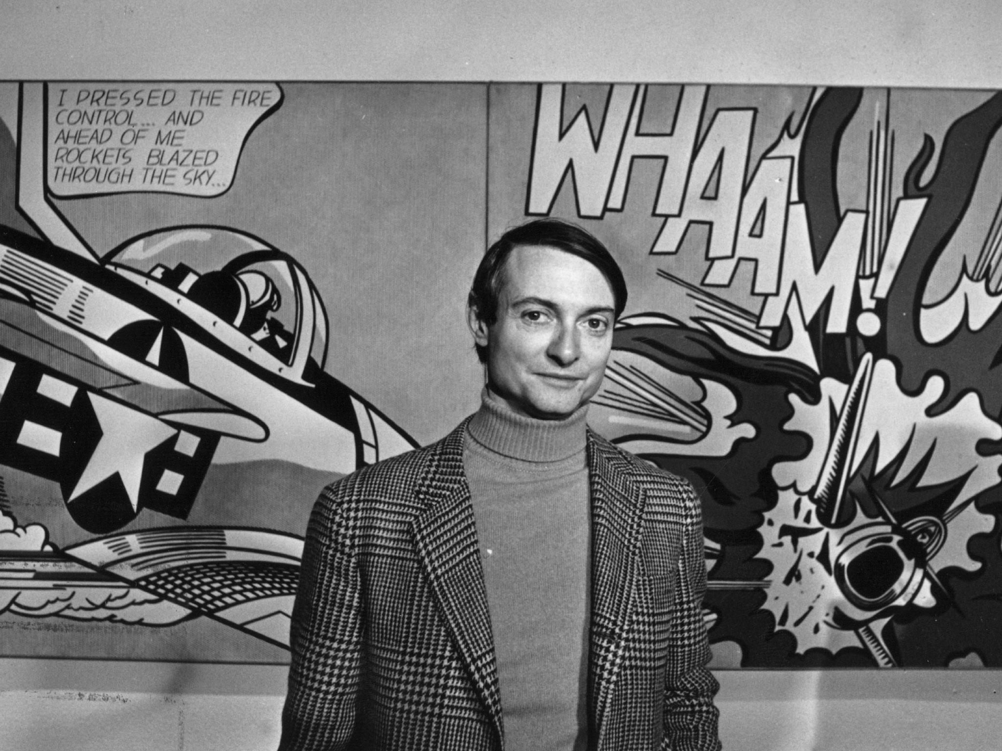 Roy Lichtenstein, Amerikalı pop sanatçısı (ÖY-1997) tarihte bugün