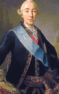 III. Petro , Rus çarı (DY-1728) tarihte bugün