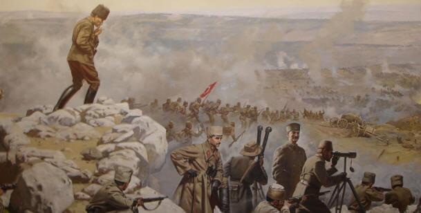 Kurtuluş Savaşı'nın dönüm noktası kabul edilen Sakarya Zaferi. tarihte bugün