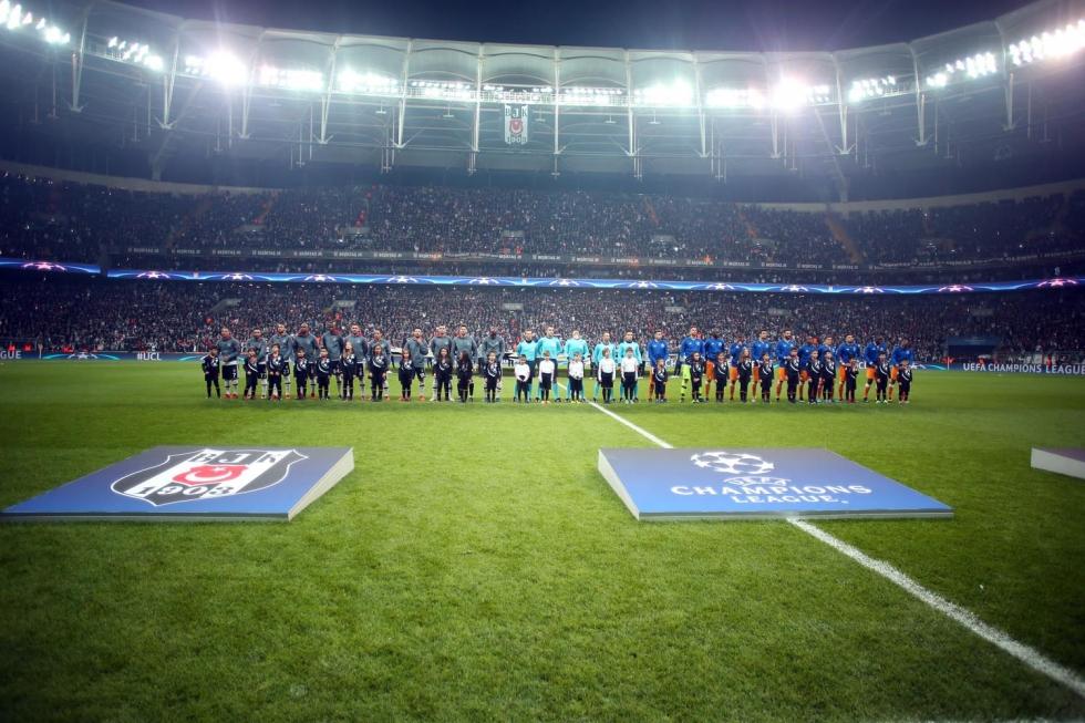Şampiyonlar Ligi Grubunu Lider Tamamlayan Ilk Türk Takımı Beşiktaş