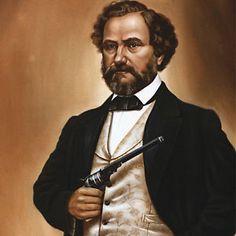 Samuel Colt, silah üreticisi, Amerikalı mucit (DY-1814) tarihte bugün