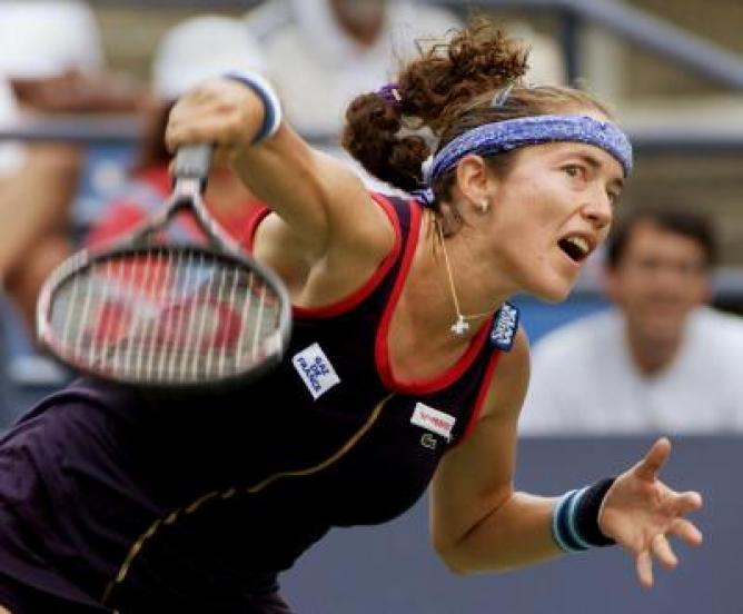 Sandrine Testud, Fransız tenisçi tarihte bugün
