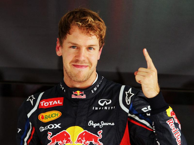 Sebastian Vettel, Alman Formula 1 pilotu tarihte bugün