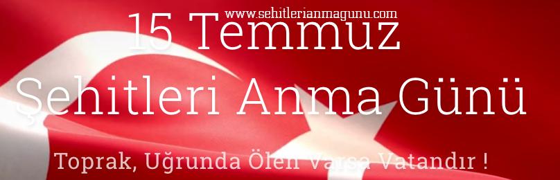 Cumhurbaşkanı Recep Tayyip Erdoğan, 15 Temmuz'un 'Şehitleri Anma Günü' olarak ilan edildiğini açıkladı. Artık her yıl 15 Temmuz günü Şehitleri Anma Günü olarak anılacaktır. tarihte bugün
