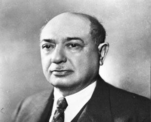 Eski başbakanlarımızdan Şemsettin Günaltay. tarihte bugün