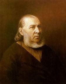 Sergei Aksakov, Rus yazar (ÖY-1859)