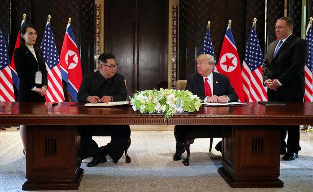 Singapur Trump - Kim Görüşmesi