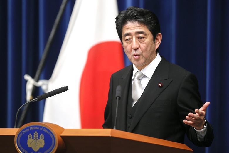 Şinzo Abe, Japon siyasetçi tarihte bugün