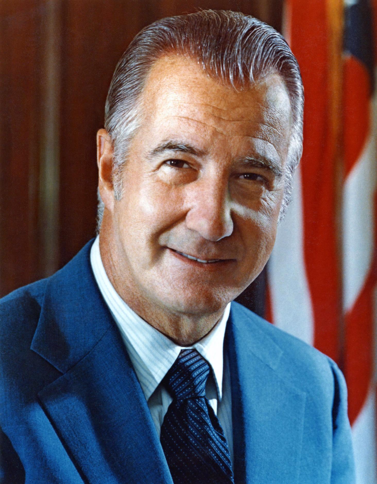 Spiro Agnew, ABD Başkan Yardımcısı(DY-1918) tarihte bugün