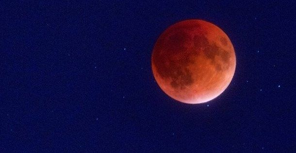 Süper Kanlı Kurt Tam Ay Tutulması