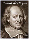 Pierre dHozier, Fransız tarihçidir (ÖY-1660)