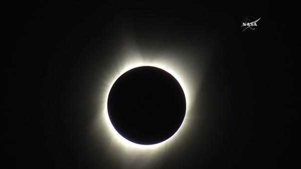 Tarihin En Büyük Güneş Tutulması