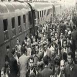 Türkiyeden Almanyaya işçilerin ilk gidişi