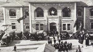 Türkiye Büyük Millet Meclisi ilk toplantısını yaptı. tarihte bugün
