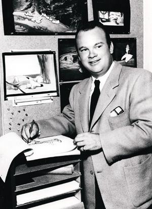 Tex Avery, çizgi film karakterlerine hayat veren ressam, çizer (DY-1908) tarihte bugün