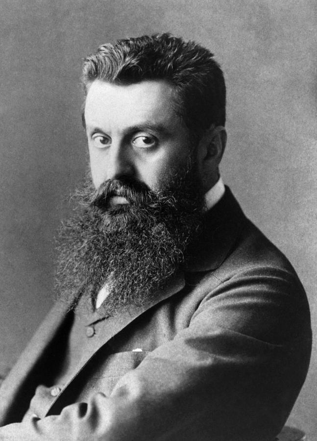Theodor Herzl, Avusturyalı gazeteci, Siyonizmin kurucusu (DY-1860) tarihte bugün