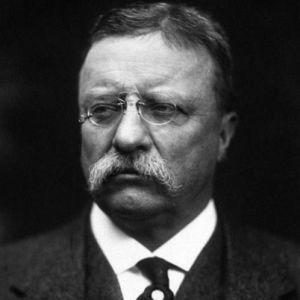 Theodore Roosevelt, Amerika Birleşik Devletleri 26. başkanı. Nobel Barış Ödülü sahibi (ÖY-1919) tarihte bugün