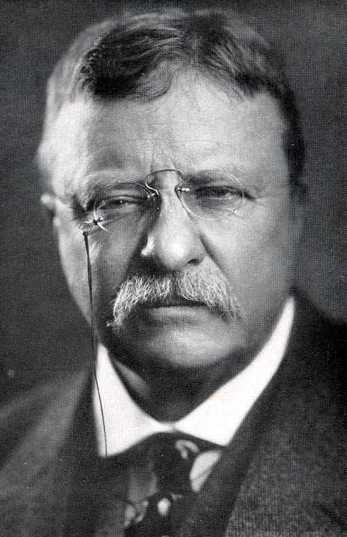 Theodore Roosevelt, Amerika Birleşik Devletleri 26. başkanı (DY-1858 tarihte bugün