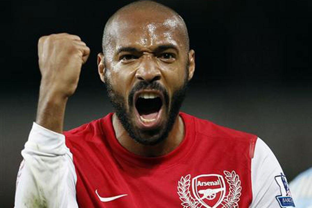 Thierry Henry, Fransız futbolcu tarihte bugün