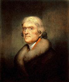 Thomas Jefferson Abd Başkanı öldü