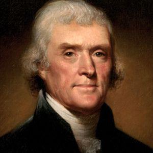Thomas Jefferson, Amerika Birleşik Devletleri'nin üçüncü başkanı (DY-1743) tarihte bugün