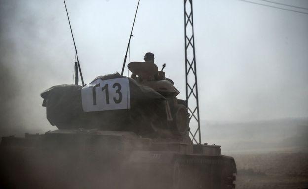 Türkiye Suriye Cerablus Bölgesinde İŞİD Harekatına Başladı