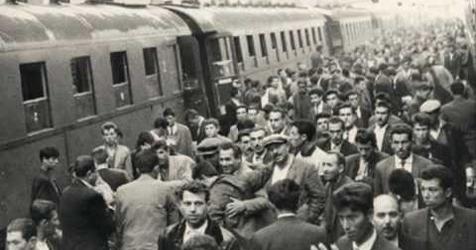 Türkiye'den ilk işçi kafilesi Almanya'ya gitti. tarihte bugün