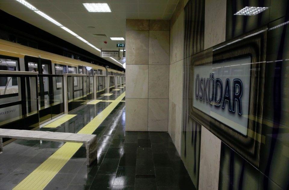 Türkiye'nin ilk sürücüsüz metro hattı Üsküdar-Ümraniye Metro Hattı açıldı.  tarihte bugün