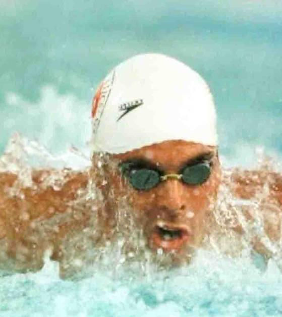 Uğur Taner, yüzücü