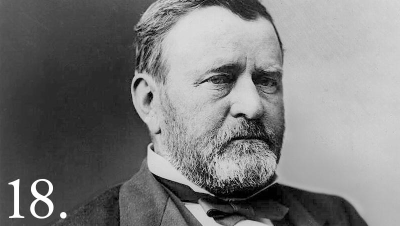 Ulysses S. Grant, ABD 18. Başkanı (ÖY-1885) tarihte bugün