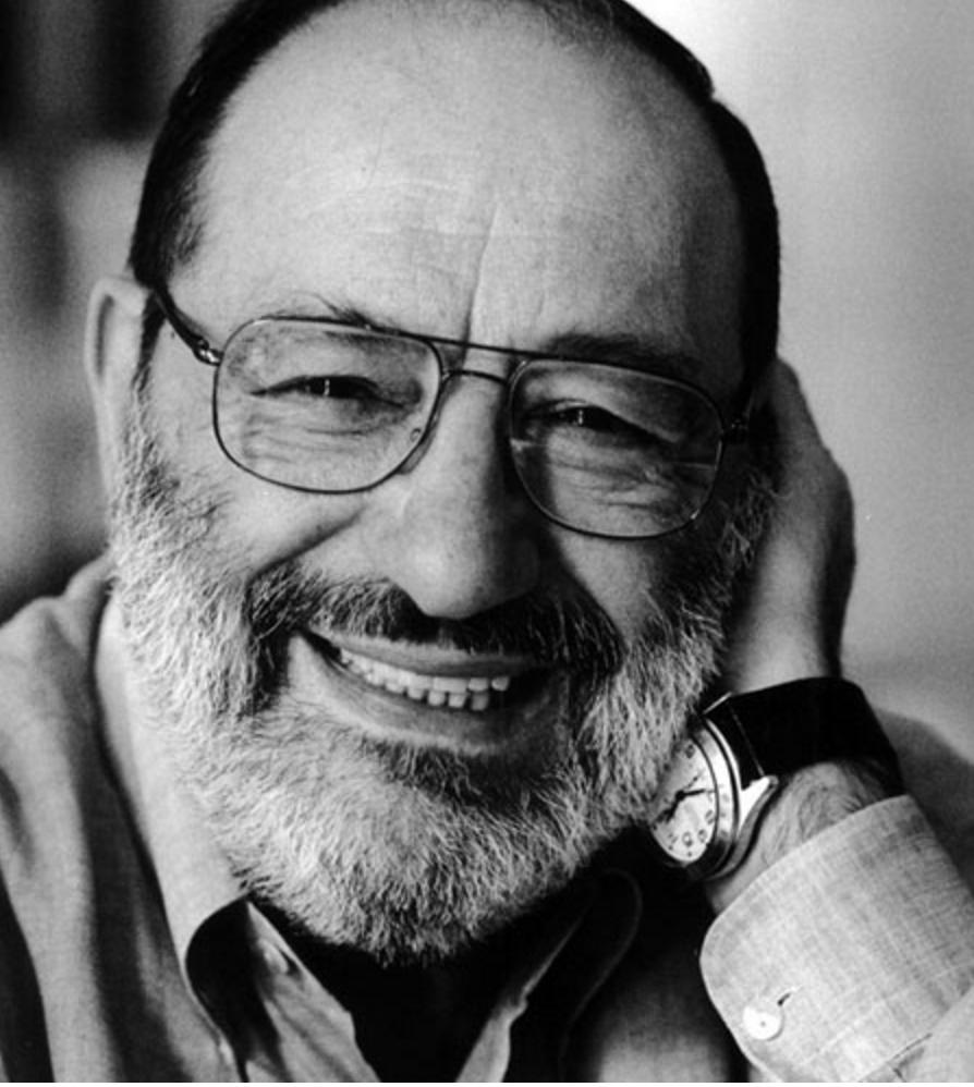 İtalyan edebiyat eleştirmeni, romancı ve göstergebilimci Umberto Eco. (ÖY-2016) tarihte bugün