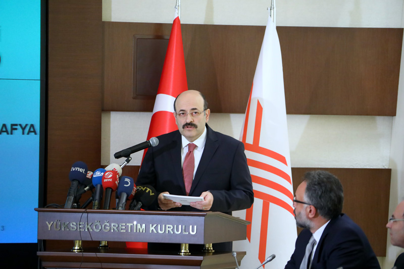 YÖK Başkanı Prof. Dr. Yekta Saraç, üniversiteye girişte yeni sistemin ayrıntılarını açıkladı. Sınavın adı Yükseköğretim Kurumları Sınavı. tarihte bugün
