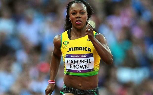 Veronica Campbell, Jamaikalı sprint atlet tarihte bugün