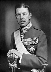 VI. Gustaf Adolf, isveç kralı (DY-1882) tarihte bugün