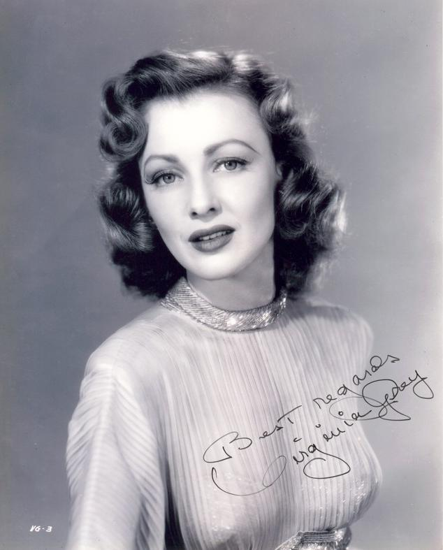 Virginia Grey, Amerikalı aktris (DY-1917) tarihte bugün