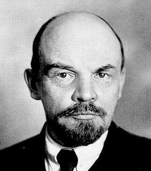 Sovyetler Birliği'nin kurucusu, Ekim Devrimi'nin önderi Vladimir İliç Lenin. tarihte bugün