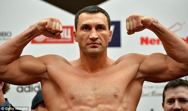 Vladimir (Wladimir) Klitschko , Ukraynalı boksör tarihte bugün